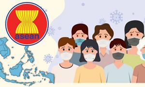 [Infographics] Giải pháp ứng phó với đại dịch Covid-19 cho các nước trong khu vực ASEAN