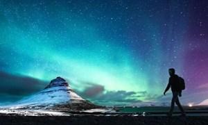 [Video] Khung cảnh tựa hành tinh lạ tại băng đảo ngày đông