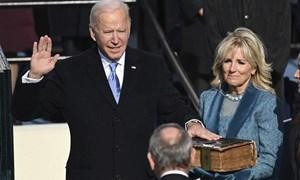 [Ảnh] Ông Joe Biden tuyên thệ trở thành Tổng thống thứ 46 của Mỹ