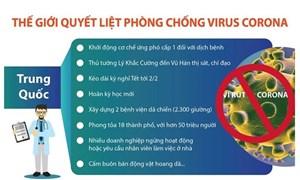 [Infographics] Đã có 107 người tử vong do bệnh do virus corona gây ra