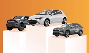 [Infographics] 10 mẫu xe bán chạy nhất thế giới 2019