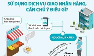 [Infographics] Phòng chống dịch Covid-19: Sử dụng dịch vụ giao nhận hàng, cần chú ý điều gì?