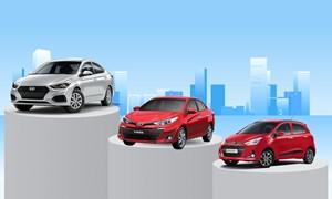 [Infographics] Ôtô bán nhiều nhất tháng 1/2020: Accent vượt Vios