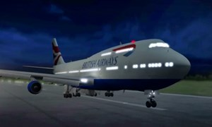 [Video] Máy bay chở khách lập kỷ lục tốc độ nhờ bão Ciara