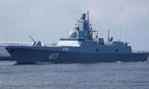 [Video] Nga thử sức mạnh chiến hạm tàng hình mới nhất trên biển