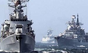 [Ảnh] Loạt ảnh hiếm hoi sự kiện hải quân Mỹ, Nga và Trung Quốc cùng tập trận