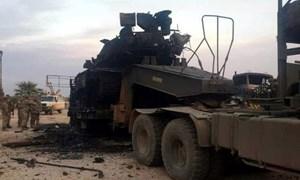 [Infographics] Thiết giáp ACV-19 Thổ Nhĩ Kỳ tràn vào Syria bất chấp việc bị bắn cháy và bắt sống