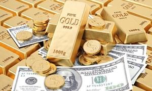 Giá vàng tiếp tục giảm nhẹ sau bài phát biểu của Chủ tịch Fed