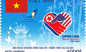 Việt Nam phát hành bộ tem kỷ niệm Hội nghị Thượng đỉnh Mỹ - Triều