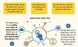 [Infographics] Hình thức và mục đích của tổng điều tra kinh tế năm 2021