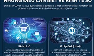[Infographics] Những điều cần biết về Kinh tế số