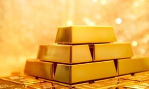Giá vàng miếng quay đầu giảm
