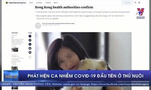 [Video] Phát hiện ca nhiễm COVID-19 đầu tiên ở thú nuôi