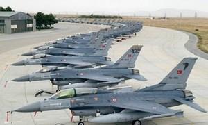 [Infographics] Chỉ đợi Mỹ gật đầu, F-16 Thổ Nhĩ Kỳ sẽ tung hoành đánh phá tại Syria