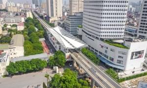 [Video] Đường sắt Nhổn – Ga Hà Nội hoàn thành 100% đường ray trên cao