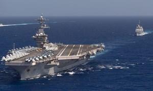 [Video] Hệ thống vũ khí cực mạnh trên tàu hộ tống cho tàu sân bay vào Đà Nẵng