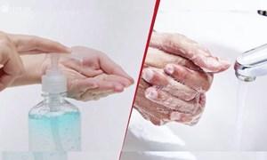 [Video] Nên rửa tay bằng gel hay xà phòng?