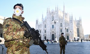 [Video] Lệnh phong tỏa khu vực 16 triệu dân ở Italy khác biệt gì so với ở Vũ Hán?