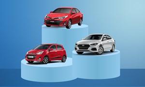 [Infographics] Top xe bán chạy tháng 2 - Vios