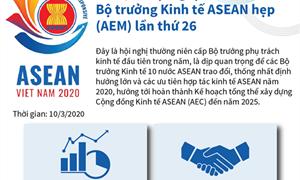 [Infographics] Kết quả Hội nghị Bộ trưởng Kinh tế ASEAN hẹp AEM lần thứ 26