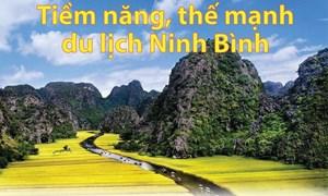 [Infographics] Tiềm năng, thế mạnh của du lịch tỉnh Ninh Bình