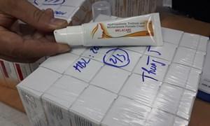 Thu giữ 10.000 tuýp kem nám Melacare nhập khẩu trái phép