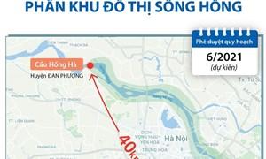 [Infographics] Thông tin về dự thảo đồ án Quy hoạch phân khu đô thị sông Hồng