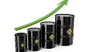 Giá dầu tăng mạnh lên sát 60USD/thùng
