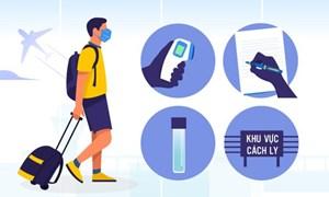 [Infographics] Hành khách đi máy bay phòng dịch như thế nào?