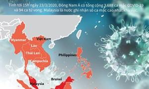 [Infographics] Malaysia có số ca mắc COVID-19 cao nhất Đông Nam Á