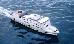 [Video] Mẫu tàu bệnh viện Mỹ triển khai đối phó Covid-19