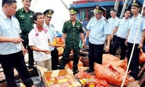 Thu cho ngân sách 52,56 tỷ đồng từ hoạt động chống buôn lậu