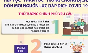 [Infographics] Tiếp tục