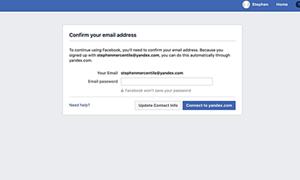 Facebook đòi người dùng cung cấp mật khẩu email