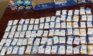 [Video] Hải quan Sân bay Tân Sơn Nhất bắt giữ 4 kg ma túy tổng hợp