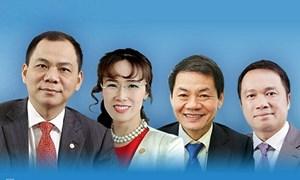 [Infographics] Việt Nam có 4 tỷ phú USD nằm trong danh sách của Forbes