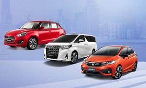 [Infographics] 10 ôtô bán chậm nhất tháng 3