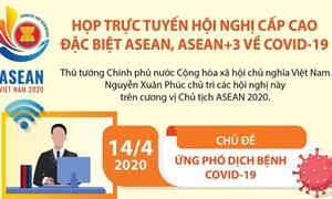 [Infographics] Họp trực tuyến Hội nghị Cấp cao đặc biệt ASEAN về COVID-19
