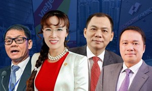 [Infographics] Tài sản của các tỷ phú Việt Nam thay đổi ra sao 7 năm qua?