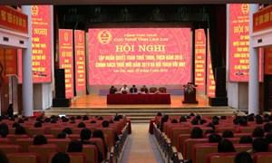 Lào Cai: Nhiều giải pháp thu nợ đọng hiệu quả