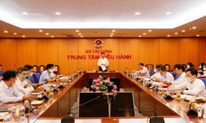 Ban Thường vụ Đảng ủy Bộ Tài chính tổ chức Hội nghị tháng 4/2021