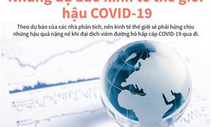 [Infographics] Những dự báo kinh tế thế giới hậu COVID-19
