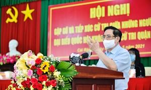 Thủ tướng Chính phủ Phạm Minh Chính tiếp xúc cử tri tại TP. Cần Thơ
