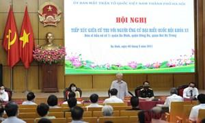 Tổng Bí thư Nguyễn Phú Trọng tham dự Hội nghị tiếp xúc với cử tri TP. Hà Nội