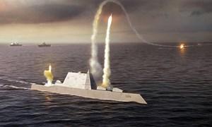 [Infographics] Khu trục hạm 4,4 tỷ USD của Mỹ chính thức đi vào trực chiến