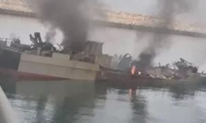 [Video] Tên lửa Iran bắn trúng tàu Iran