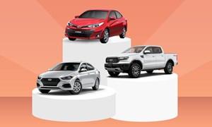 [Infographics] 10 xe bán chạy nhất tháng 4 - Vios vẫn đỉnh bảng