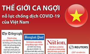 [Infographics] Thế giới ca ngợi nỗ lực chống COVID-19 của Việt Nam