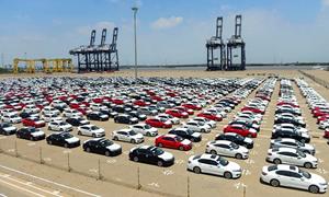 14.886 ô tô được nhập khẩu vào Việt Nam trong tháng 4/2021