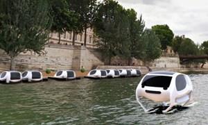 [Video] Taxi điện cánh ngầm chạy dưới nước đầu tiên trên thế giới